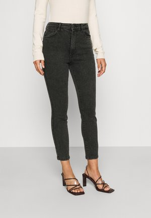 VMLOA PETITE - Jeans Skinny Fit - black/washed