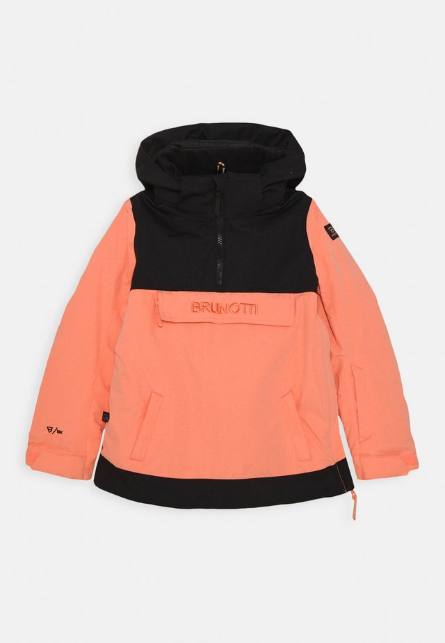 REY JR GIRLS SNOWJACKET - Snowboardová bunda - desert flower