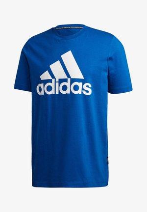 BADGE OF SPORT - Print T-shirt - royalblau (294)
