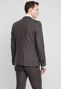 Shelby & Sons - NEWTOWN SUIT - Suit - dark brown - 3