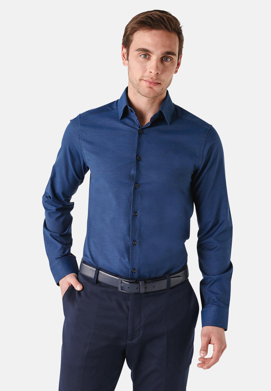 Uomo SLIM FIT LONG SLEEVE OXFORD - Camicia