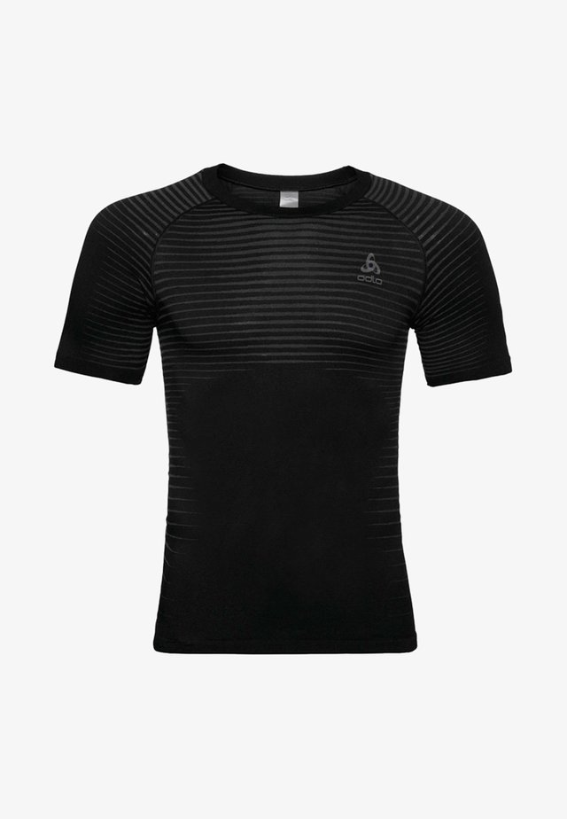 MIT INTEGRIERTEN BELÜFTUNGSZONEN - T-Shirt print - black