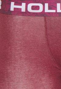 Hollister Co. - MULTI PATTERN 3 PACK - Underbukse - burg - 6