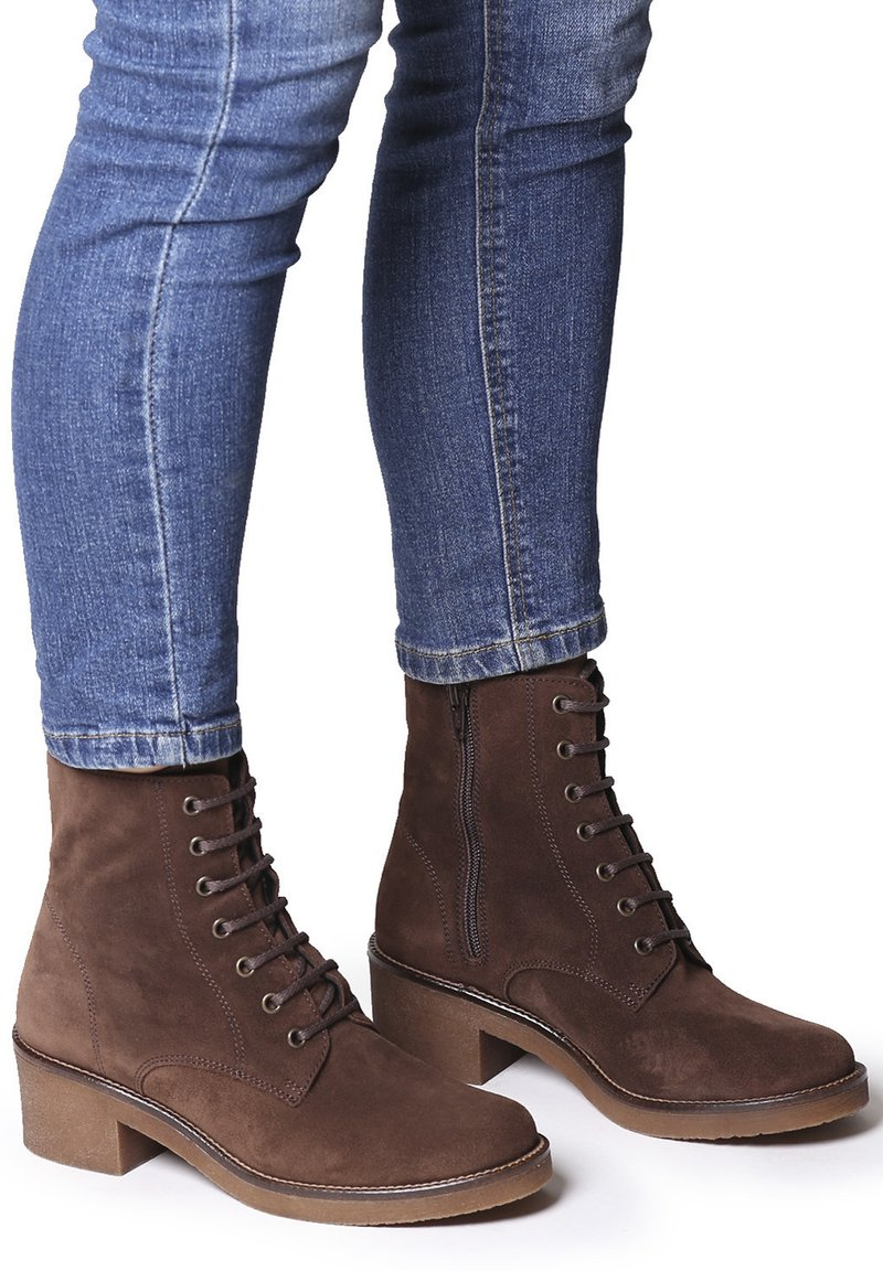 Toni Pons - PAVIA-SY - Lace-up ankle boots - marro