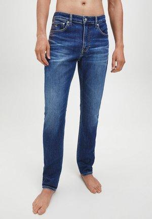 Slim fit jeans -  visual blue brushed