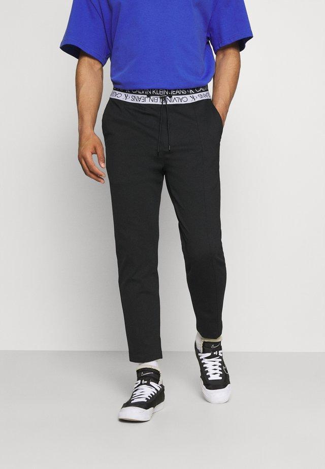 LOGO WAISTBAND SEASONAL GALFOS - Pantaloni - black