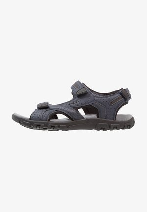 STRADA - Walking sandals - navy/dark grey