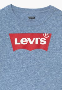Levi's® - BATWING TEE UNISEX - Long sleeved top - mottled blue - 2