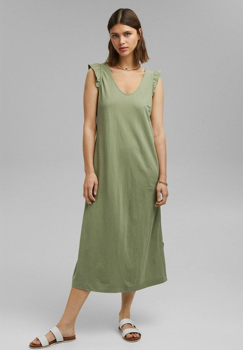 Esprit - Day dress - light khaki
