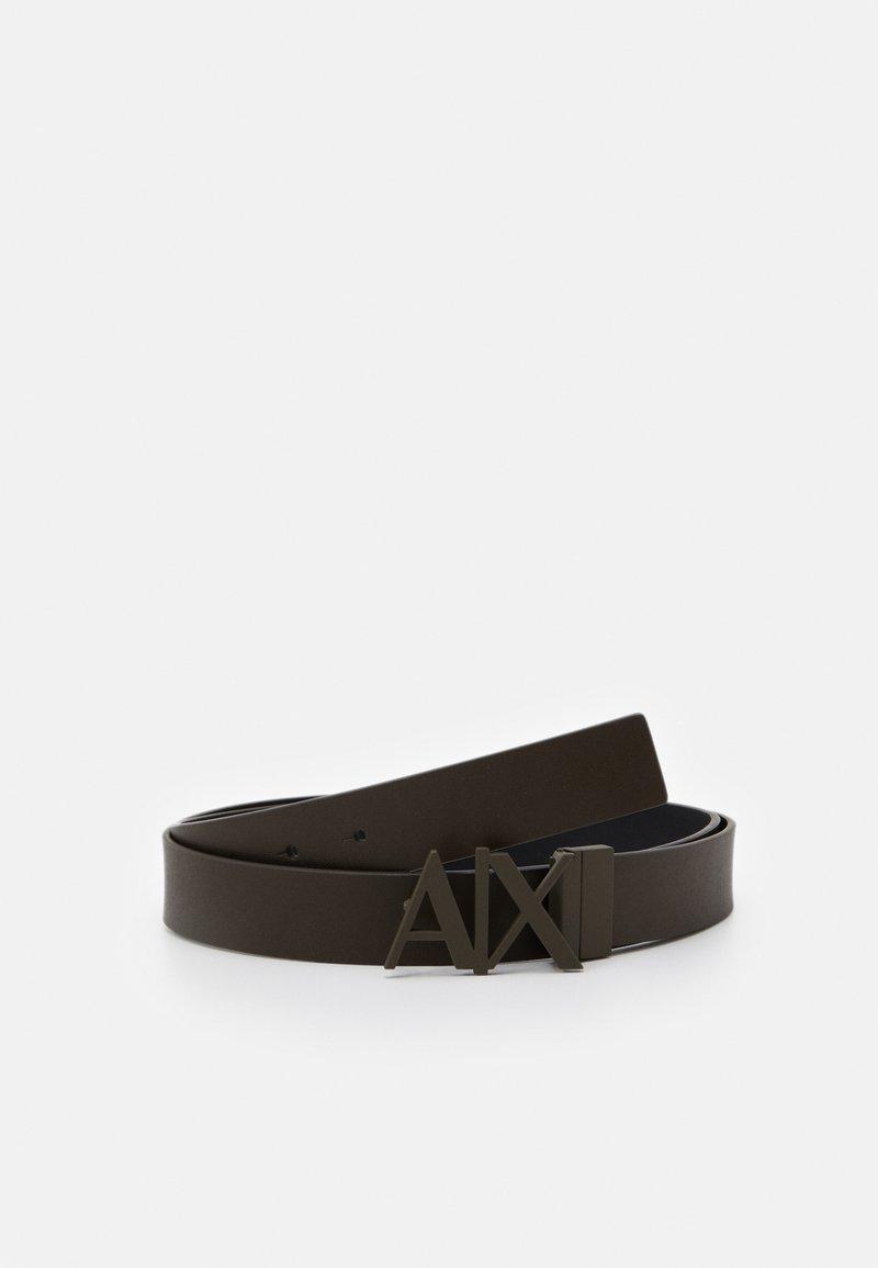 Armani Exchange - BELT - Belt - green/black