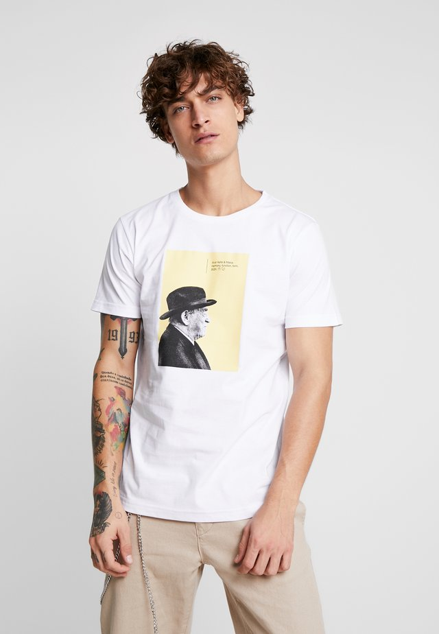 AALTO - T-shirt imprimé - white