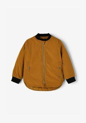 Bomber Jacket - bronze brown