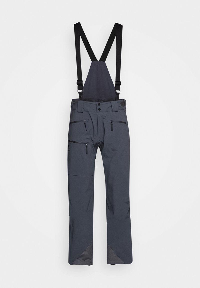 Salomon - OUTLAW PANT - Zimní kalhoty - ebony