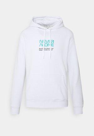 ERITH HOODIE - Sweatshirt - white