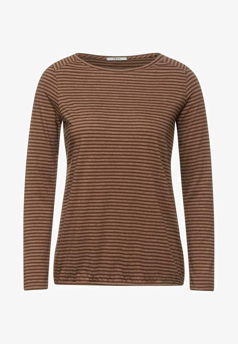 Cecil - Long sleeved top - brown