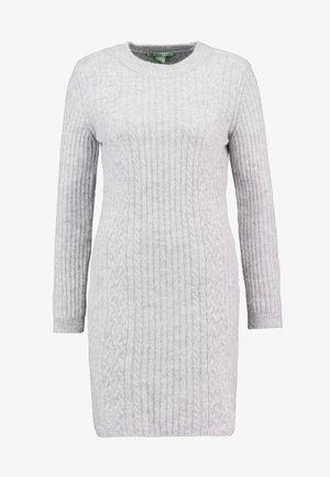 Jumper dress - light grey marl