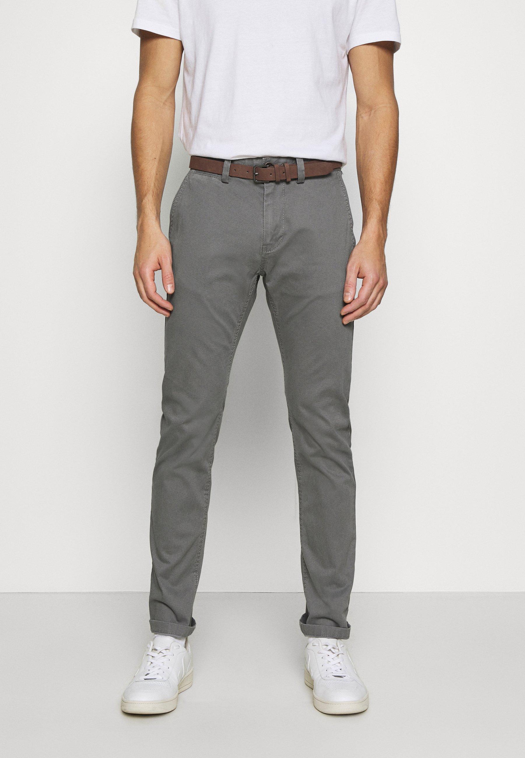 Homme Pantalon classique - grey navy