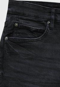PULL&BEAR - Jeans slim fit - mottled black - 7