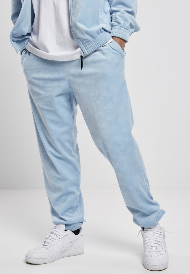 Teplákové kalhoty - babyblue