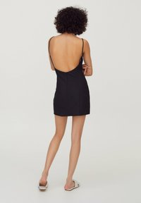 PULL&BEAR - Cocktailkleid/festliches Kleid - black - 1