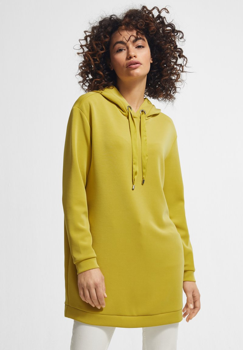 comma - Hoodie - yellow