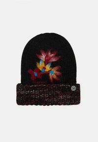 Desigual - HAT TWIST - Čepice - black - 0