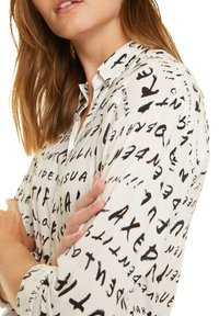 comma casual identity - Button-down blouse - grey graffity aop - 4