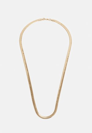 FLAT CHAIN NECKLACE - Smykke - gold-coloured
