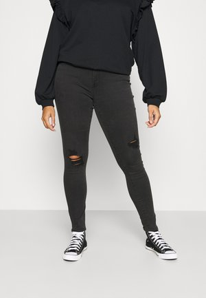 CARSALLY LIFE - Jeans Skinny Fit - black