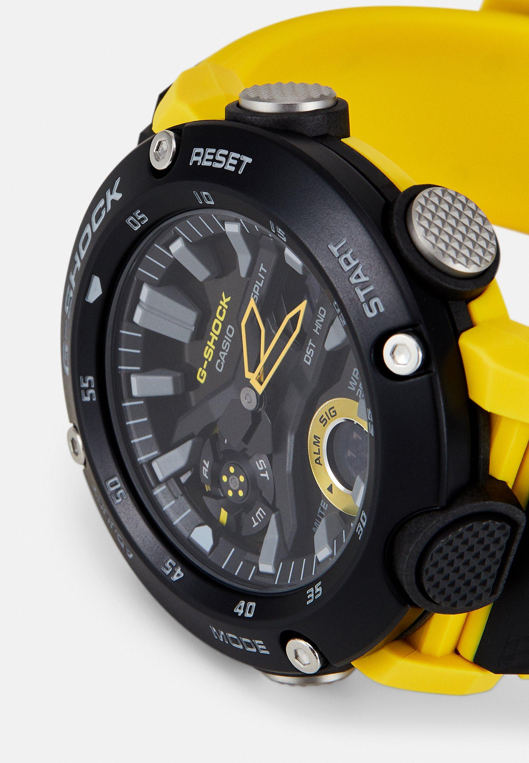 G-SHOCK Kronografklokke - black/yellow/svart H1KMHdAZr3GNBq7
