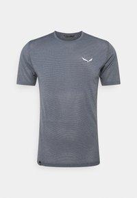 Salewa - PEDROC DRY - T-shirt med print - navy blazer melange - 0