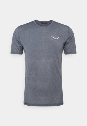 PEDROC DRY - T-shirt med print - navy blazer melange