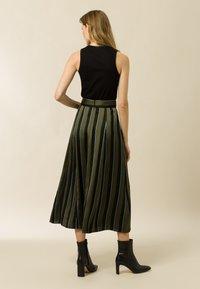 IVY & OAK - A-line skirt - dark olive - 1