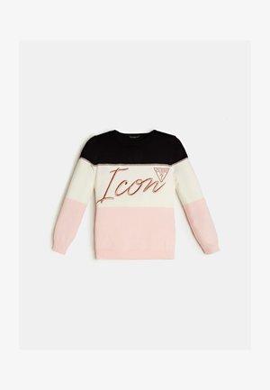 Sweter - rose multi