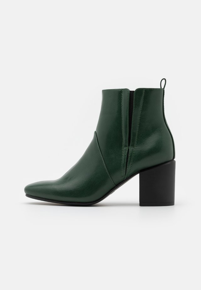 Bottines - forest green