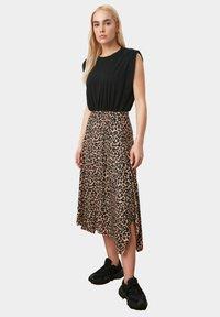 Trendyol - A-line skirt - brown - 0