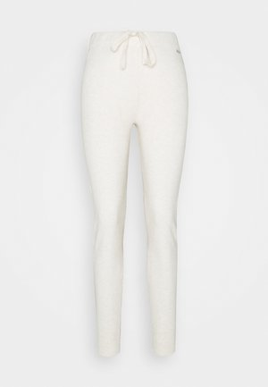 TANYA  - Tracksuit bottoms - oatmeal heather