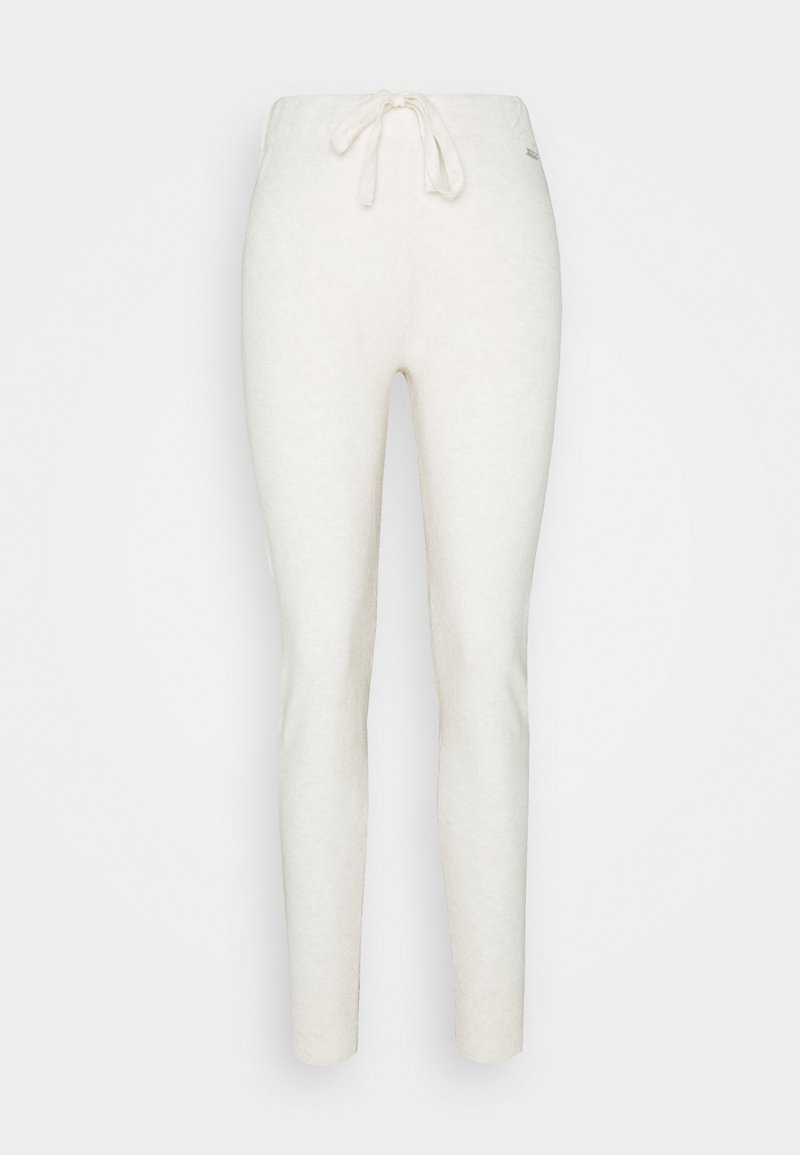 Guess - TANYA  - Tracksuit bottoms - oatmeal heather