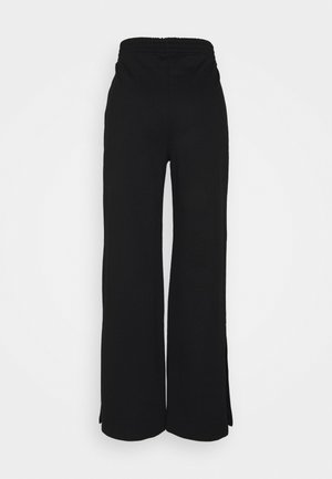 ONLDREAMER FLAIR SLIT PANTS - Kalhoty - black