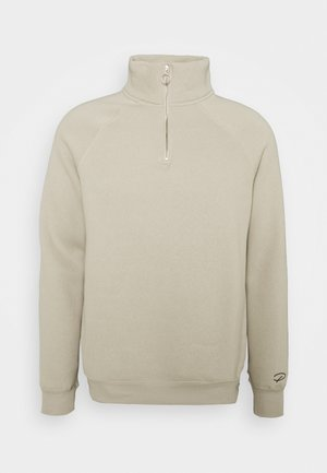 LIGHT FUNNEL NECK CREW - Sweatshirt - stone light