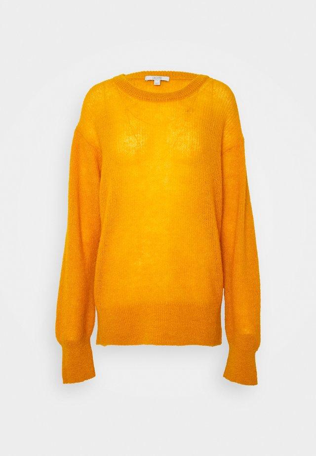 FRANCESCA - Sweter - saffron