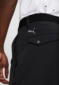 Puma Golf - STRETCH UTILITY PANT 2.0 - Trousers - black - 5