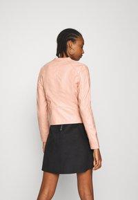 Vero Moda - VMFAVODONA - Faux leather jacket - mahogany rose - 2