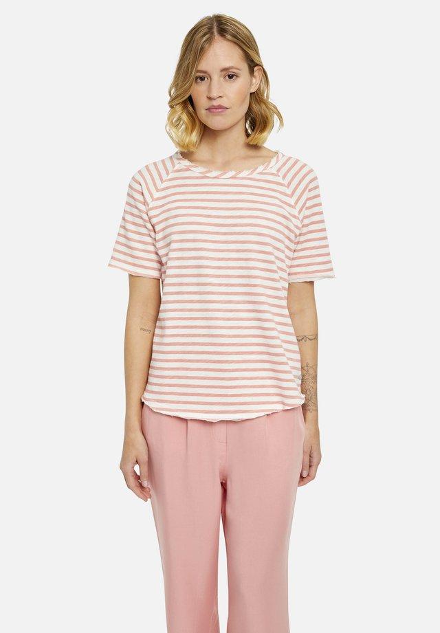 T-shirt print - vintage rosé print