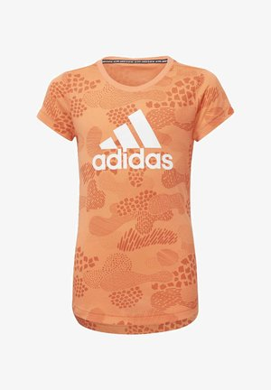 MUST HAVES GRAPHIC T-SHIRT - Print T-shirt - orange