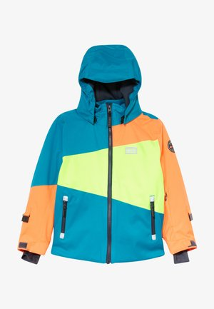 LWJOSHUA 701 - Snowboardová bunda - dark turquoise