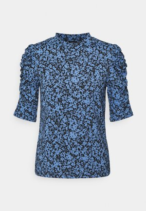 LOREEN - Print T-shirt - light blue