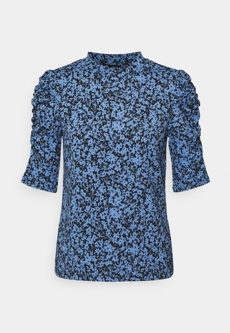 Lindex - LOREEN - Print T-shirt - light blue