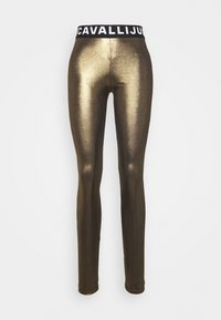 Just Cavalli - Leggings - Trousers - gold - 3