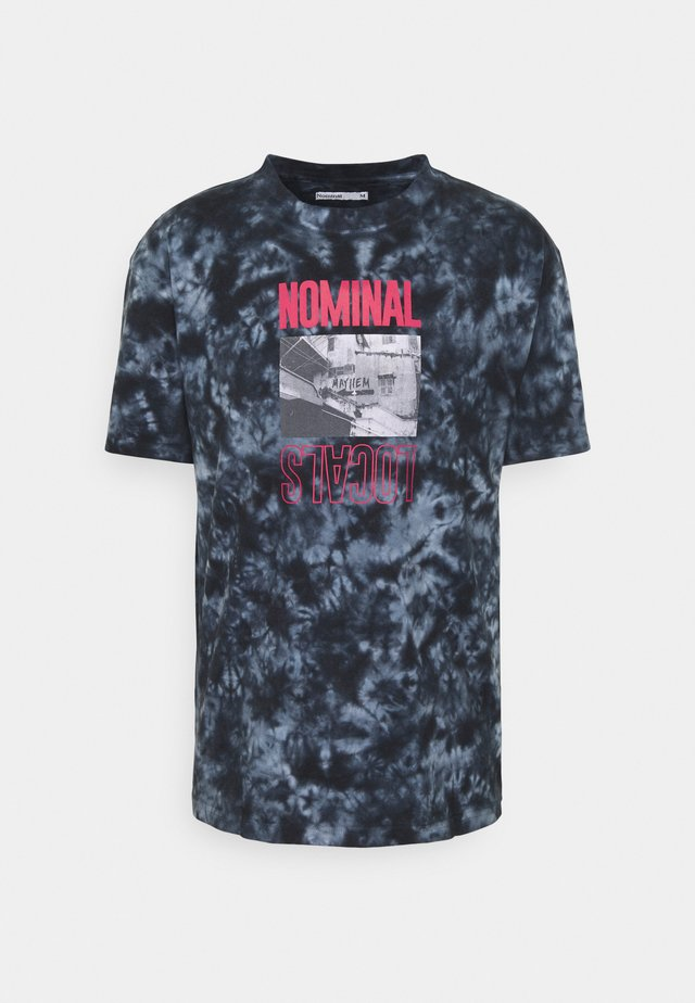 LOCALS TEE - T-shirts print - blue